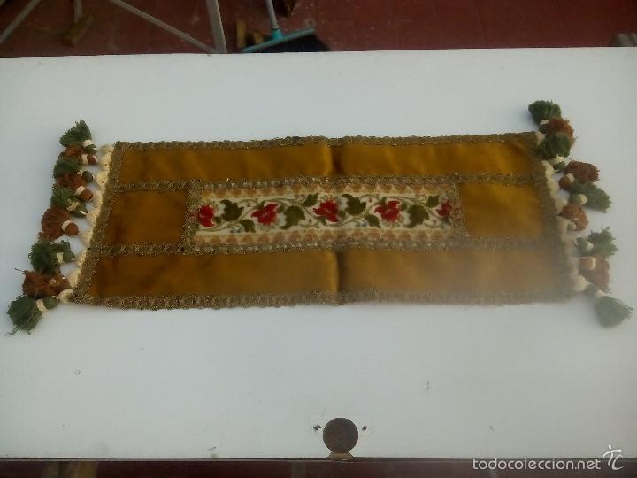 Antigüedades: lote. camino de mesa - Foto 9 - 93164312