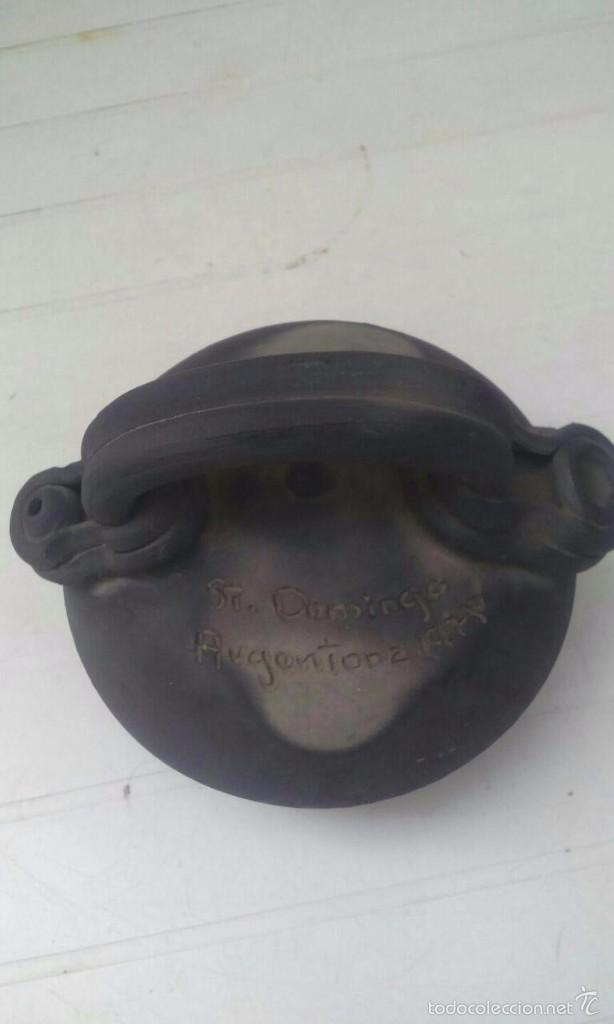 Antigüedades: CANTIR - BOTIJO DE 16 CMS. ALTO ST DOMINGO / ARGENTONA 1978 - Foto 2 - 55904625