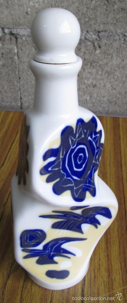 Antigüedades: BOTELLA de porcelana SARGADELOS - Foto 3 - 84661026