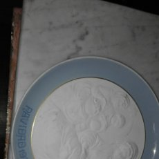 Antigüedades: LLADRO PLATO CON ESCENA 1977. Lote 55945309