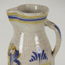 Antigüedades: JARRA DE AGUA EN CERAMICA ESMALTADA. MANISES. VALENCIA. SIGLO XX. . Lote 55961029
