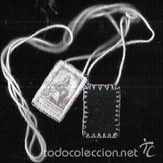 Antigüedades: ESCAPULARIO * NTRA. SRA. DEL CARMEN * TELA. Lote 111436699