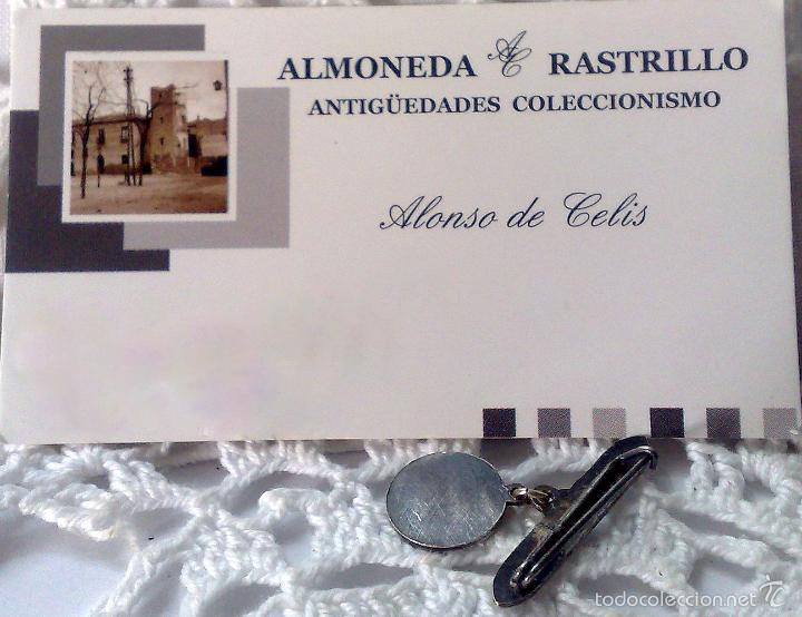 Antigüedades: MEDALLA O PRENDEDOR. -.RECUERDO DE GUADALUPE.- - Foto 5 - 32927975