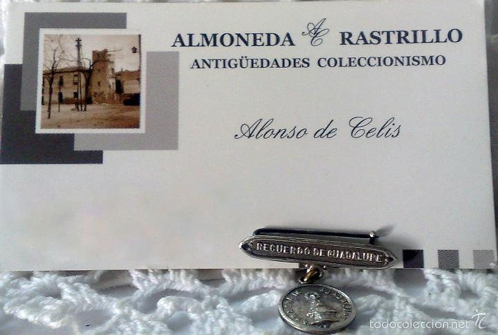 Antigüedades: MEDALLA O PRENDEDOR. -.RECUERDO DE GUADALUPE.- - Foto 6 - 32927975