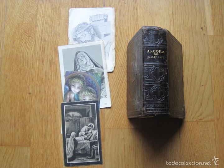 Antigüedades: ANTIGUO MISAL TAPAS DE PIEL - Foto 3 - 56037699