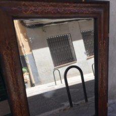 Antigüedades: GRAN MARCO MARQUETERIA ANTIGUA . Lote 56039683