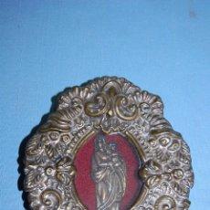 Antigüedades: RELICARIO VIRGEN CON NIÑO. Lote 56040536