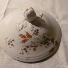 Antigüedades: TAPA DE SOPERA REDONDA. Lote 56062317