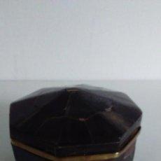 Antigüedades: CAJA OCTOGONAL DE CAREY. Lote 56076250