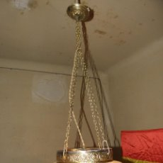 Antigüedades: LAMPARA DE TECHO. Lote 56090335
