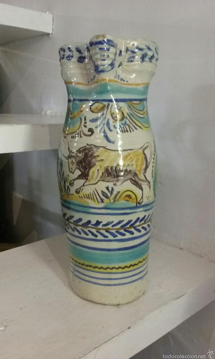 JARRA DE CERAMICA DE TRIANA (Antigüedades - Porcelanas y Cerámicas - Triana)