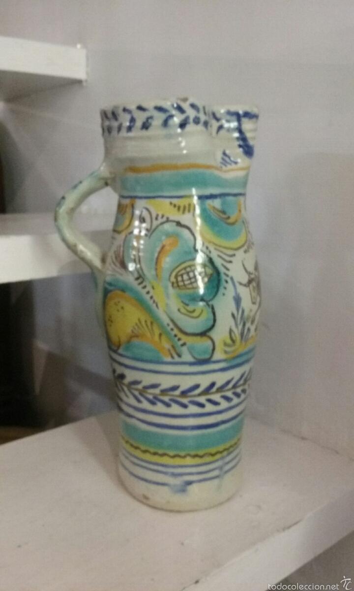 Antigüedades: JARRA DE CERAMICA DE TRIANA - Foto 5 - 56095319