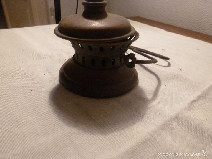 Antigüedades: asa para farol - Foto 4 - 56100283