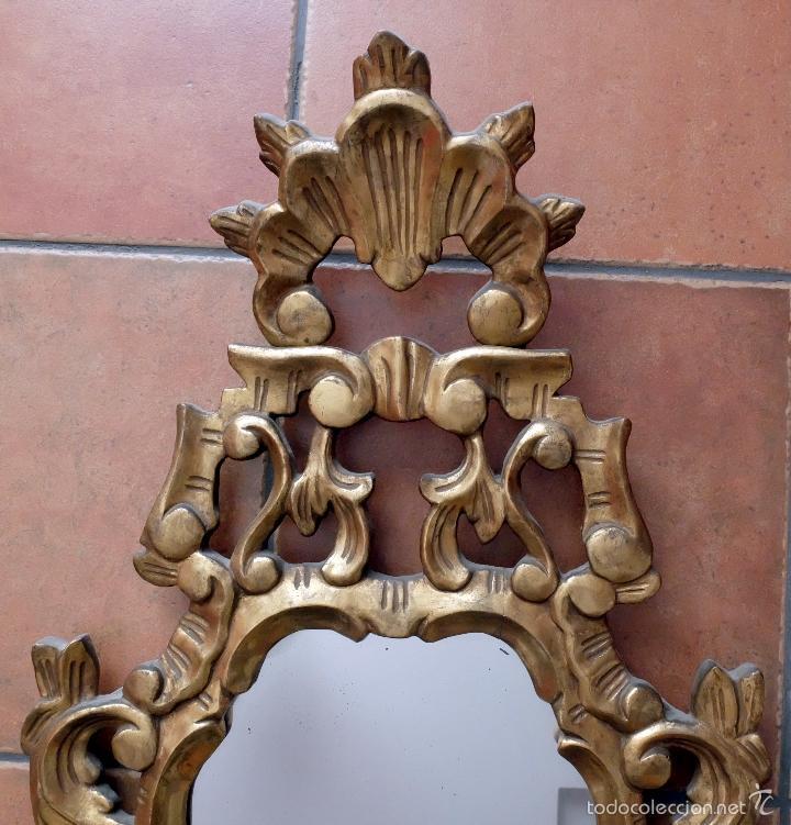 Antigüedades: BONITA CORNUCOPIA ISABELINA POLICROMADA - Foto 2 - 56117587