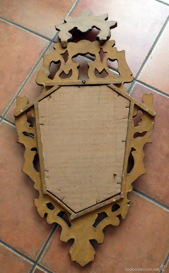 Antigüedades: BONITA CORNUCOPIA ISABELINA POLICROMADA - Foto 6 - 56117587
