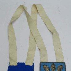 Antigüedades: PRECIOSO ESCAPULARIO CON IMAGEN DE VIRGEN, MIDE 11,5 X 8,5 CMS.. Lote 56136761