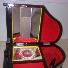 Antigüedades: CAJA DE MÚSICA SANKYO JAPÓN LACADA. Lote 56157562