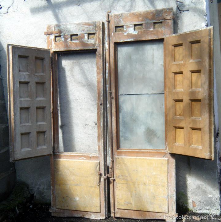 Antiguas puertas para balc n para restaurar p comprar for Antiguedades para restaurar
