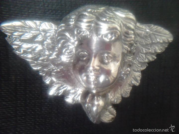 ANGEL - PLATA DE LEY 915- S.XIX (Antigüedades - Religiosas - Orfebrería Antigua)