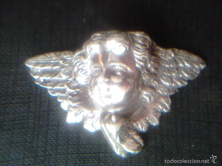 Antigüedades: ANGEL - PLATA DE LEY 915- S.XIX - Foto 2 - 56163086