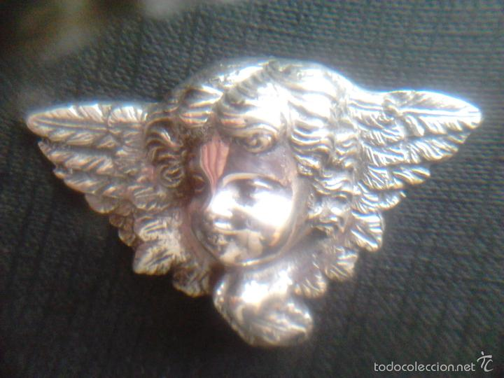 Antigüedades: ANGEL - PLATA DE LEY 915- S.XIX - Foto 3 - 56163086