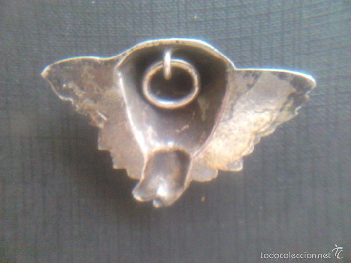 Antigüedades: ANGEL - PLATA DE LEY 915- S.XIX - Foto 4 - 56163086