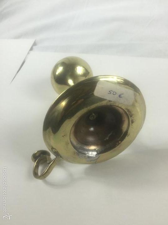 Antigüedades: antiguo candil de aceite - Foto 2 - 56168997