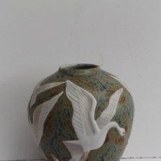 Antigüedades: JARRON PORCELANA MIGUEL REQUENA. Lote 56183786
