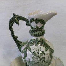 Antigüedades: AGUAMANIL EN CERAMICA FIRMADA - MANISES. Lote 56194311