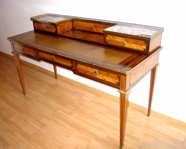 Bureau escritorio o tocador luis xvi caoba br comprar - Escritorios antiguos baratos ...