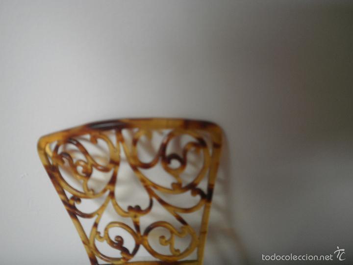 Antigüedades: Peineta pequeña - Foto 2 - 56213958
