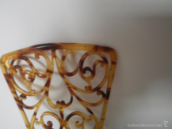 Antigüedades: Peineta pequeña - Foto 3 - 56213958