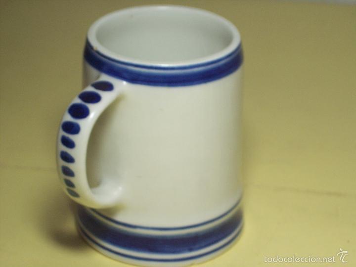 Antigüedades: PEQUEÑA JARRA DE CERAMICA DELFTS BLUE (HECHA EN HOLANDA) - Foto 3 - 56220435