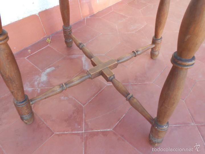 Antigüedades: Mesa de Madera -Años 50- - Foto 3 - 56221100