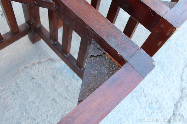 Antigüedades: 4 SILLAS EN MADERA - Foto 7 - 56246280