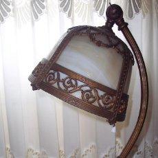 Antigüedades: ORIGINAL, ANTIGUA LAMPARA MESA FIRMADA MILLER USA.. Lote 56257387