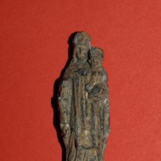 Antigüedades: FIGURA RELIGIOSA DE PLOMO. Lote 56262204