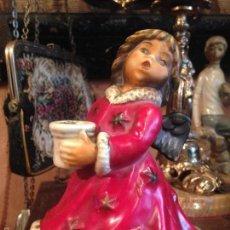 Antigüedades: ANGEL AUTOMATA MUSICAL PORCELAS ALEMANA GOEBEL . Lote 56263818