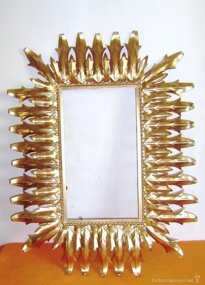 Marco para espejo sol rectangular 80 x 60 cm d comprar for Espejo rectangular con marco