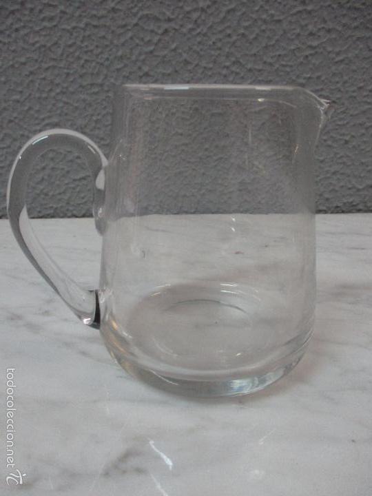 Antigüedades: Antiguas vinagreras - cristal - objetos litúrgicos, para la misa - principios S. XX - Foto 3 - 56291582