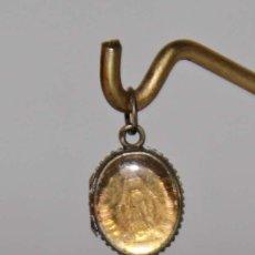 Antigüedades: MR100 RELICARIO DE NUESTRA SEÑORA DE LA MEDALLA MILAGROSA. PLATA Y METAL. PRINC. S. XX . Lote 56292645