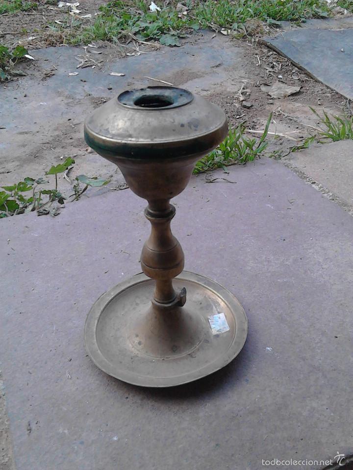 LAMPARA ACEITE (Antigüedades - Varios)