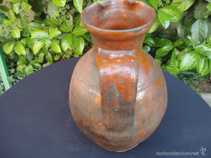 Antigüedades: Alfarería castellana: Medida para vino de Tajueco - Foto 3 - 56313329