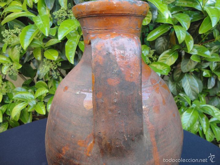 Antigüedades: Alfarería castellana: Medida para vino de Tajueco - Foto 4 - 56313329