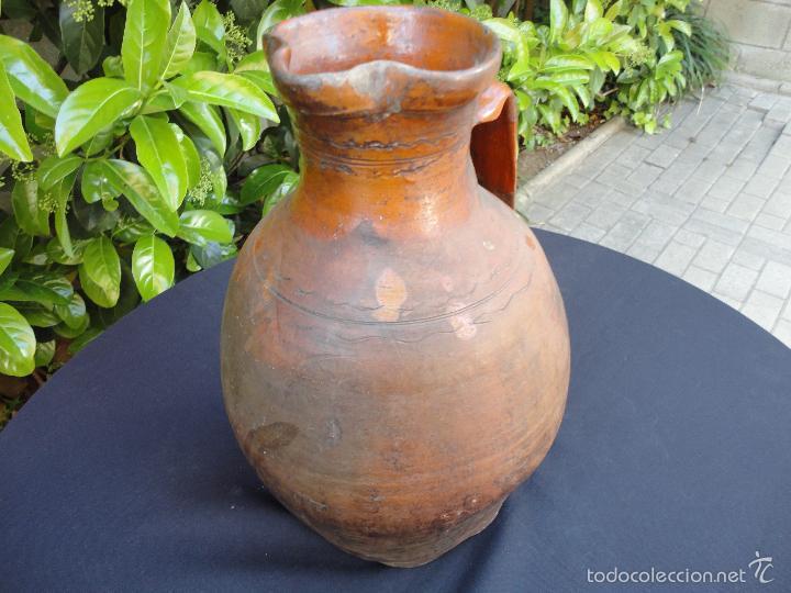 Antigüedades: Alfarería castellana: Medida para vino de Tajueco - Foto 5 - 56313329