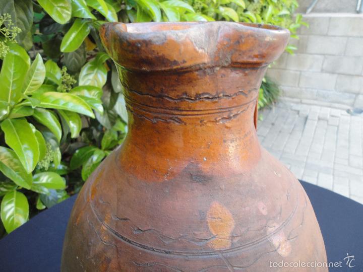Antigüedades: Alfarería castellana: Medida para vino de Tajueco - Foto 6 - 56313329