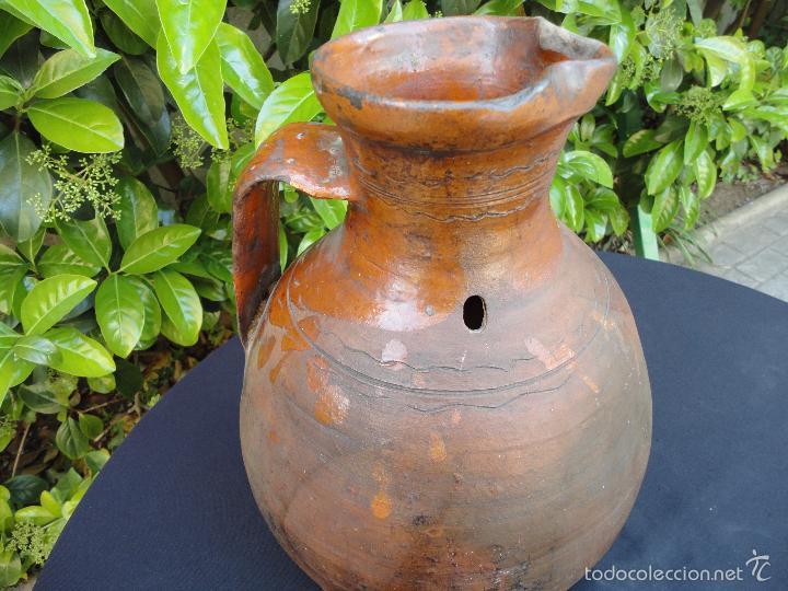 Antigüedades: Alfarería castellana: Medida para vino de Tajueco - Foto 7 - 56313329