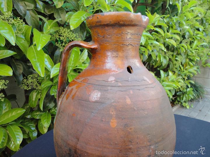 Antigüedades: Alfarería castellana: Medida para vino de Tajueco - Foto 9 - 56313329