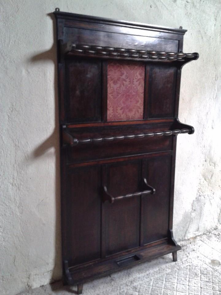 Antiguo mueble de entrada perchero parag ero r comprar muebles auxiliares antiguos en - Perchero recibidor antiguo ...