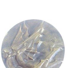 Antigüedades: MEDALLA BASE AÉREA DE REUS FIRMADA POR RAMÓN FERRAN. Lote 56328328